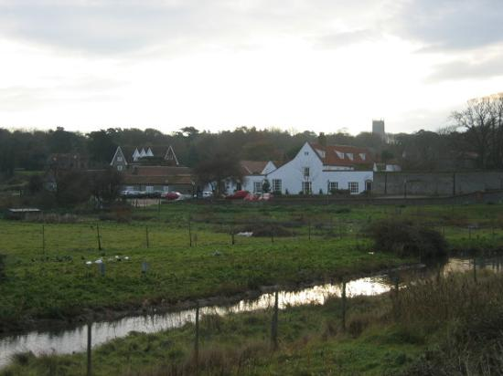 Manor Hotel, Blakeney: Location of The Manor in Blakeney