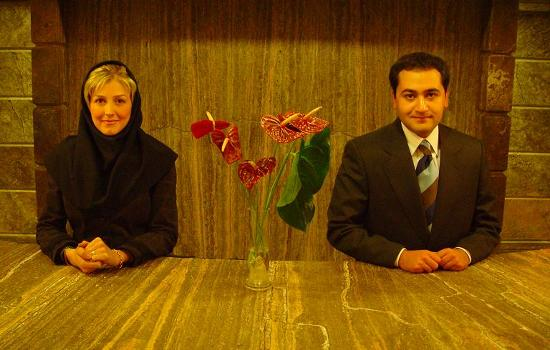Sepehr Apartment Hotel: The front office in Sepehr Hotel