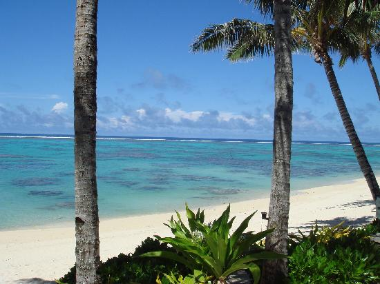 Rarotonga Beach Bungalows: View from our deck