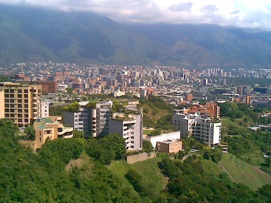 Karakas, Venezuela: Overview of Caracas, from Valle Arriba sector