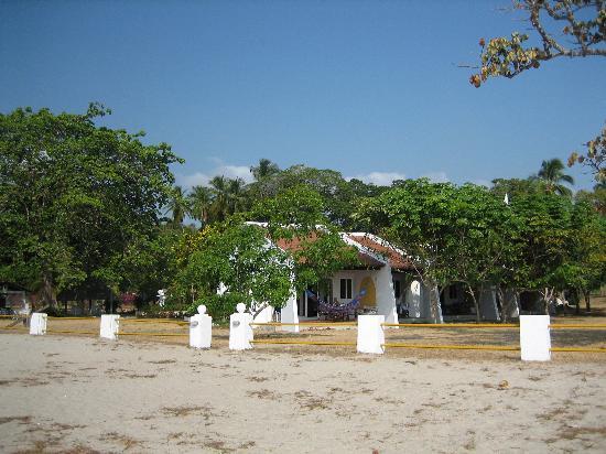 Las Sirenas de Santa Clara - Beach Front Cabins: Front Door/Cabana # 11