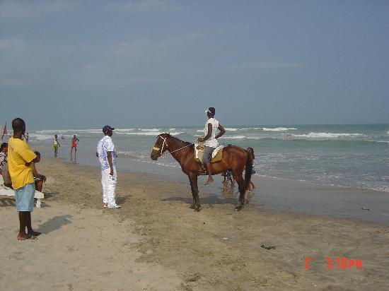 Ghana Accra Labadi Beach