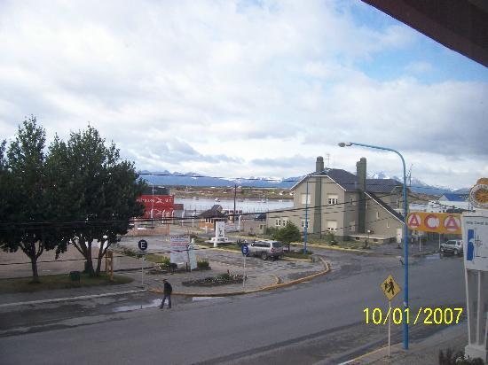 Hotel Canal Beagle: Vista desde el comedor del hotel