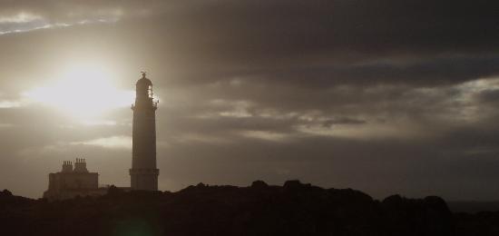 Corsewall Lighthouse Hotel: A simply beautiful setting