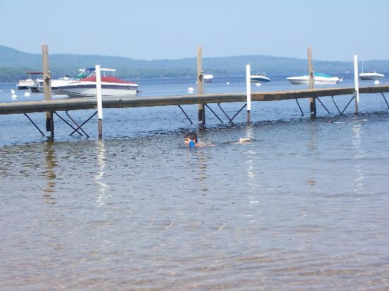 Maine: Sebago Lake is a great place for water activities