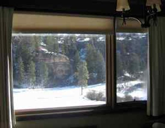 The Lodge at Tamarron: view from room
