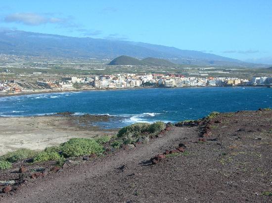 El Medano Hotel: El Medano et sa plage
