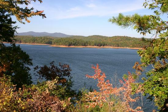 Ellijay, GA: 3,500 acre pristine Carters Lake