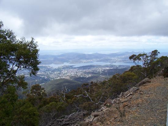 Hobart, Australië: later in the day
