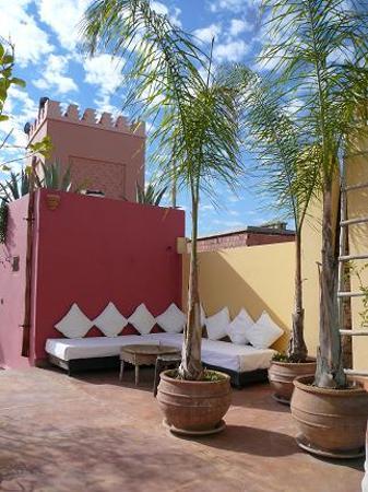 Riad Safa: Terrasse 1