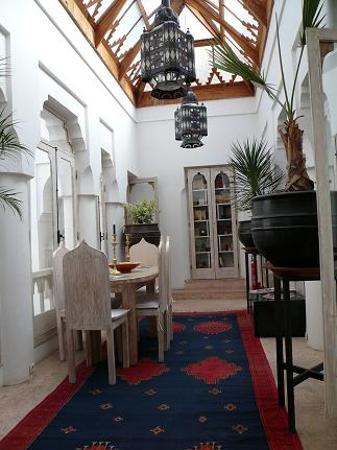 Riad Safa: Salle à manger