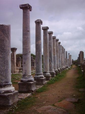 Perge Ancient City Photo