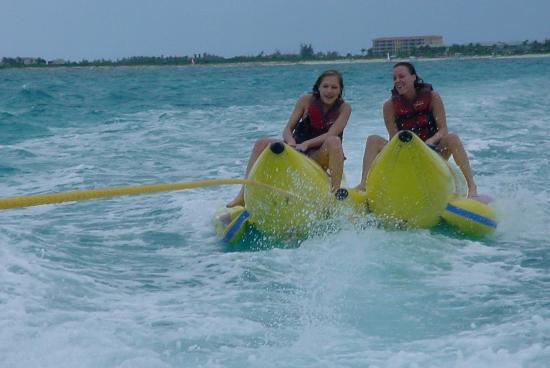 Beaches Turks & Caicos Resort Villages & Spa: banana  boats