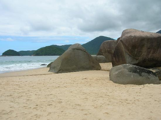 Paraty, RJ: Surf beach, Trindade