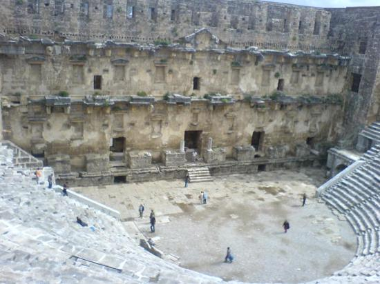 Aspendos Ruins and Theater: Roman theater