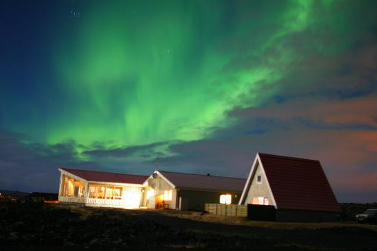 Northern Light Inn: Northern Lights - Above hotel