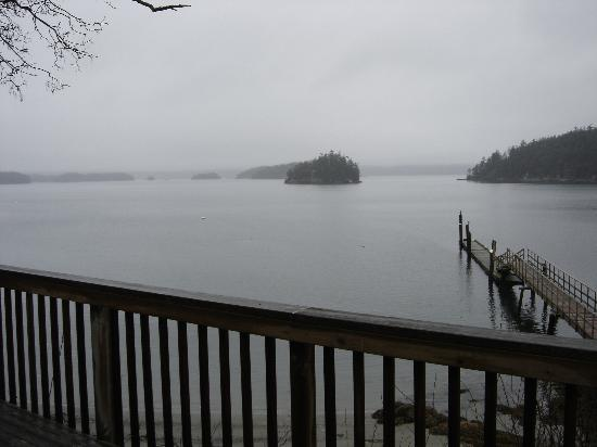 WorldMark Deer Harbor: View from Grand Suite Deck