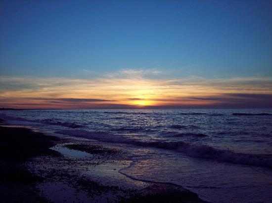 Fjerritslev, Dinamarca: Sonnenuntergang Nordsee