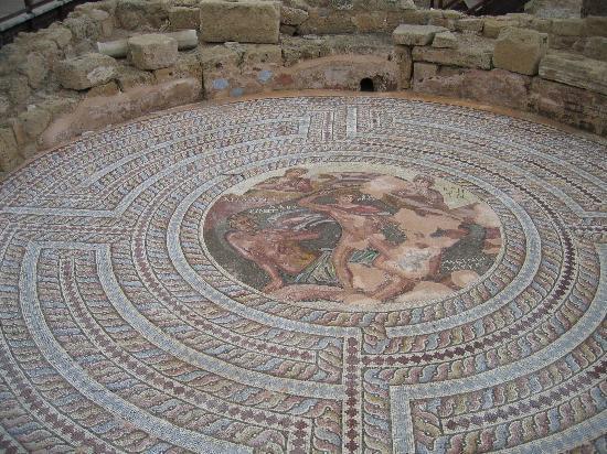 Paphos, Cyprus: One Mosaic