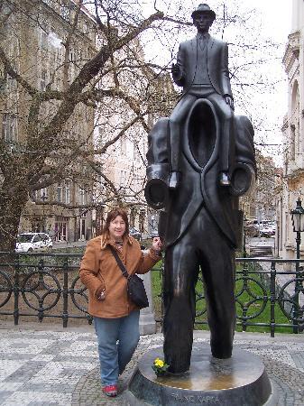 Jewish Museum in Prague: Franz Kafka and The Golem statue