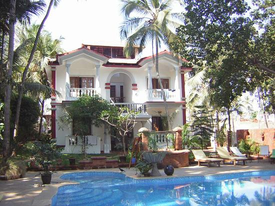 Alidia beach cottages updated 2018 prices guest house reviews goa baga tripadvisor for Guest house in goa with swimming pool