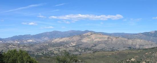 Santa Barbara, Californien: San Rafael Mtns