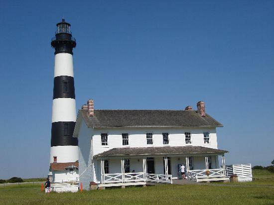 Nags Head, Caroline du Nord : Bodie Island Lighthouse