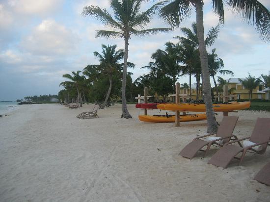 Tortuga Bay, Puntacana Resort & Club: Canoes & kayaks available free of charge