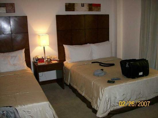 Crowne Plaza Asuncion Hotel : Beds