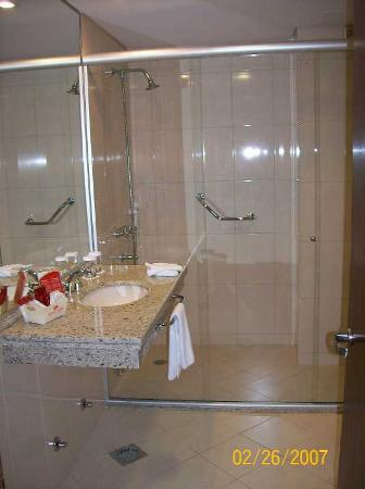 Crowne Plaza Asuncion Hotel: Bathroom