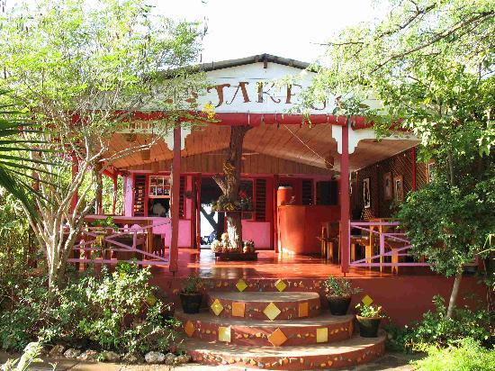 Jakes Hotel, Villas & Spa: The front desk
