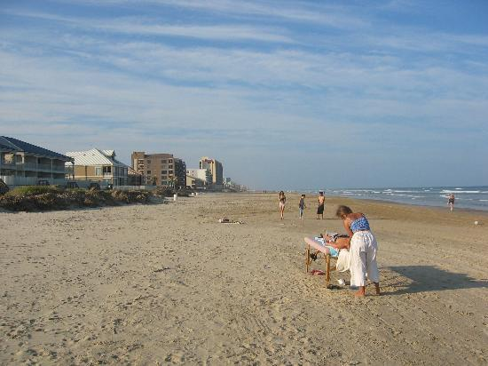 Isla del Padre Sur, TX: Massage on the Beach