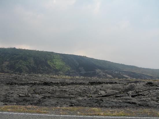 Kilauea Volcano Military Camp: Chain of Craters Drive
