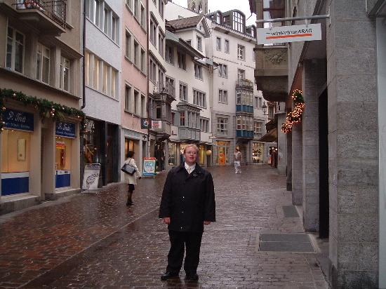 Saint-Gall, Suisse : The Altstadt near the Kloster
