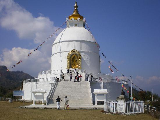 โปขระ, เนปาล: Peace Pagoda POKHARA
