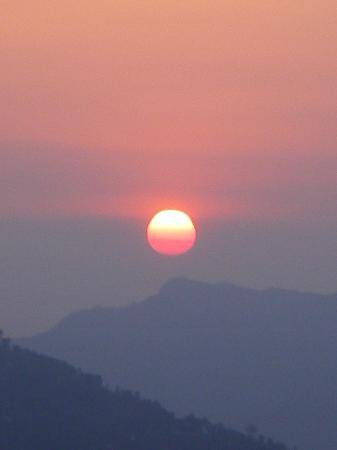 Pokhara, Nepal: The Sunrise on sarangkot