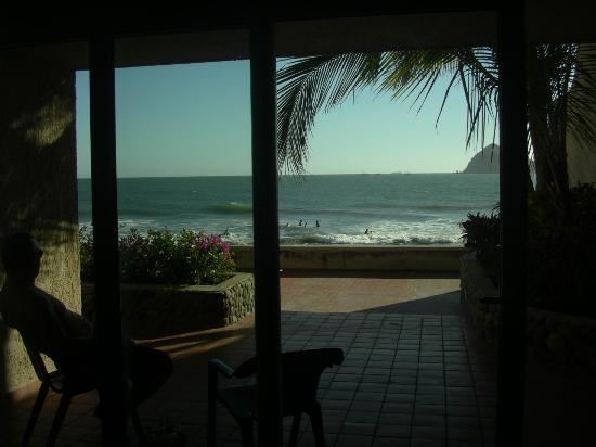 Hotel Playa Mazatlan: Sitting at the kitchen table