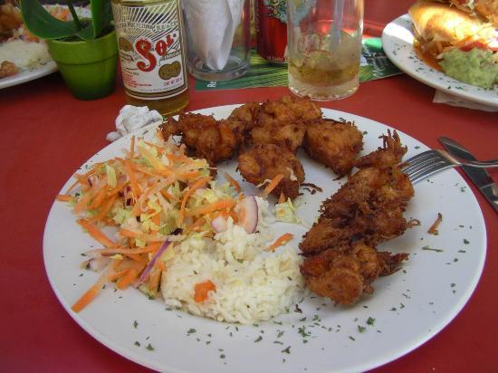 Hotel Playa Mazatlan: Gringo Lingo Coconut Shrimp