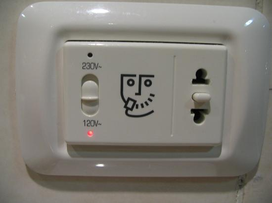 Switchable Power Outlet In Washroom Picture Of Iberostar Varadero
