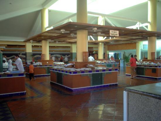 Laguna Mar: buffet du restaurant le topaze