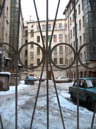 Piter Hotel: the view from the window