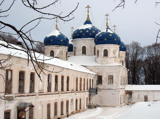 Veliky Novgorod, Russia: yurev monastery