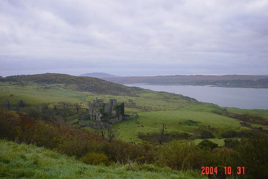 ‪‪Clifden‬, أيرلندا: clifden castle‬