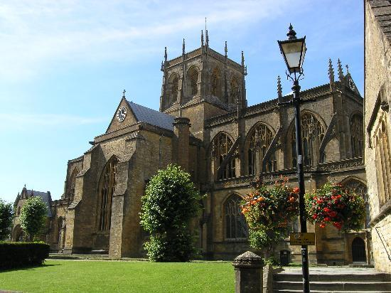 Шерборн, UK: Sherborne Abbey