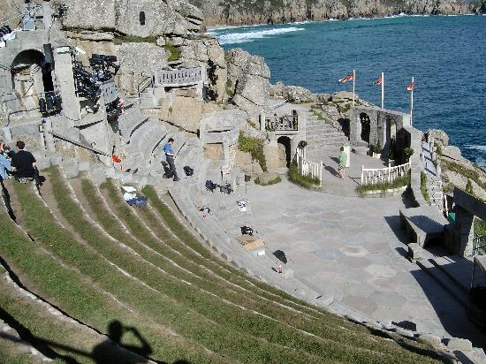 Penzance, UK: Seating & Stage