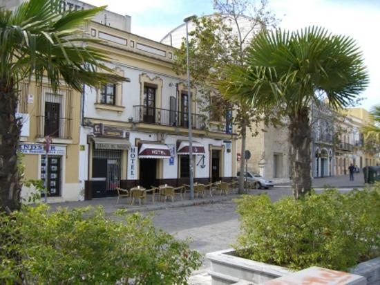 El Ancla Hotel : Outside of El Ancla