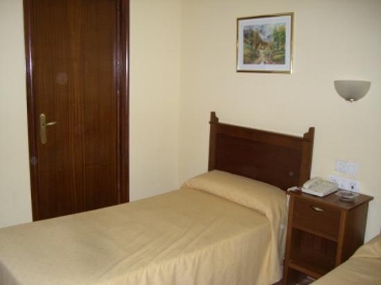 El Ancla Hotel : Bedroom