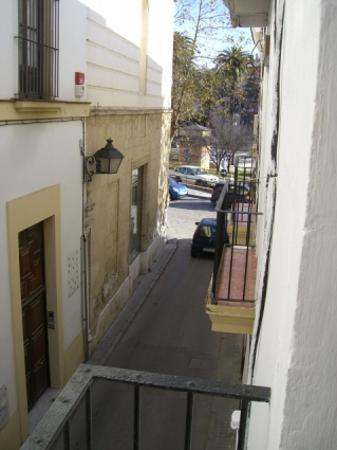 El Ancla Hotel : View towards Plaza Mamelon