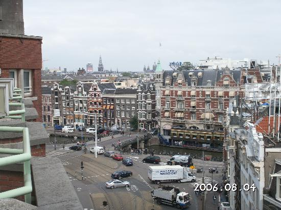 View From Balcony Picture Of Nh Carlton Amsterdam