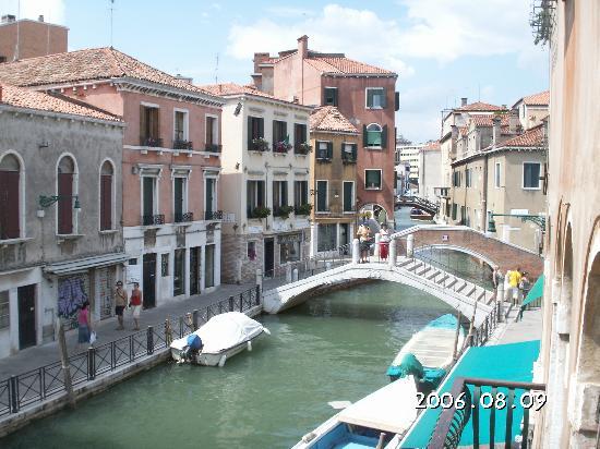 Hotel Locanda Salieri: View from balcony 2
